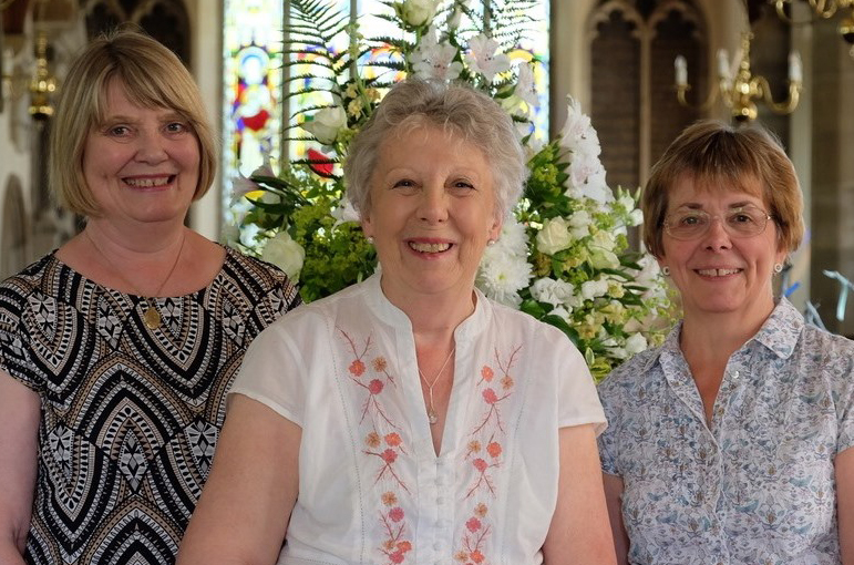 Carole, Helen and Sue
